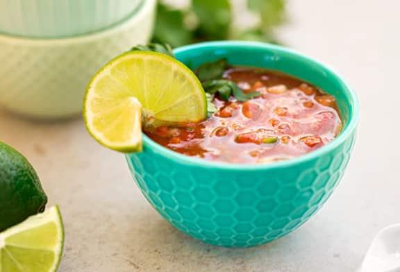4-ingredient gazpacho