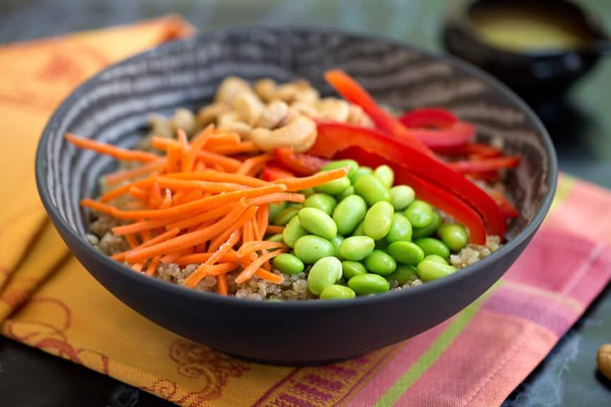 quinoa protein bowl recipe