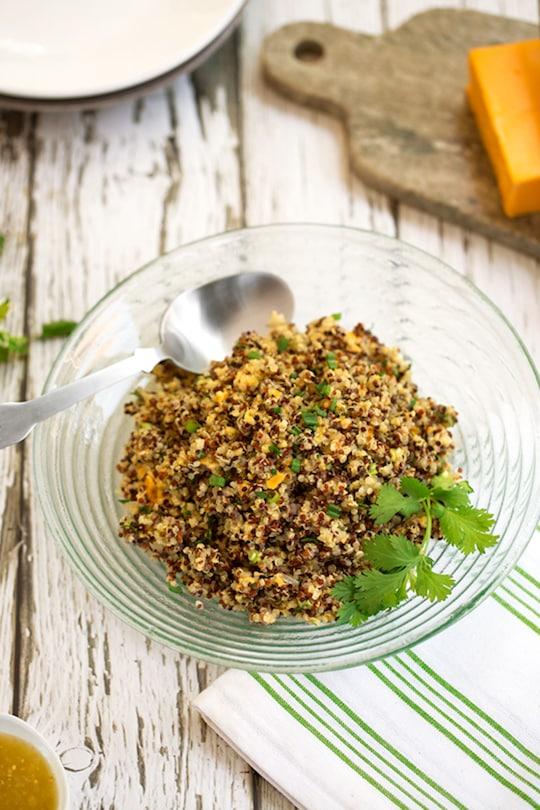 Salsa Verde Quinoa recipe