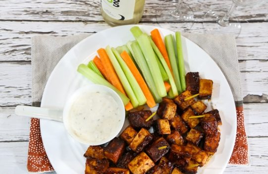Buffalo tofu bites recipe