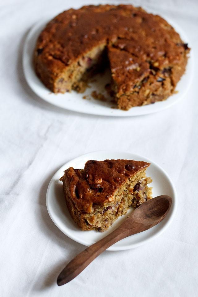 Eggless Plum Cake Recipe How To Make Vegan Amp Eggless Plum