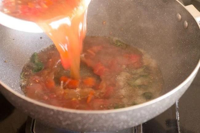add tamarind pulp mixture