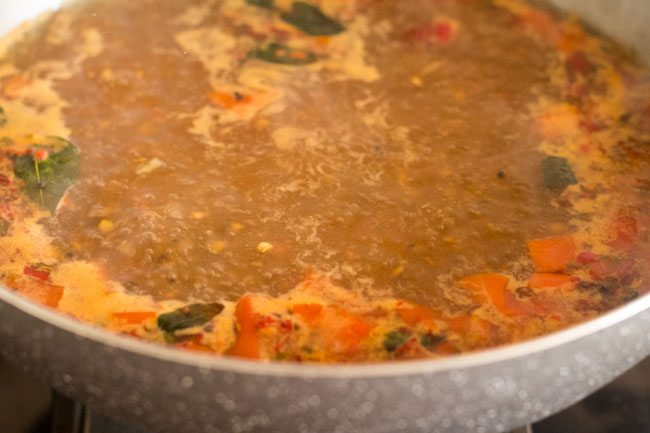 simmer for 5 to 6 minutes
