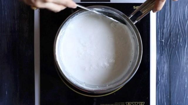 making kesar pista malai kulfi recipe