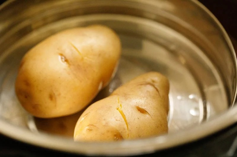 cooked potatoes in the instant pot