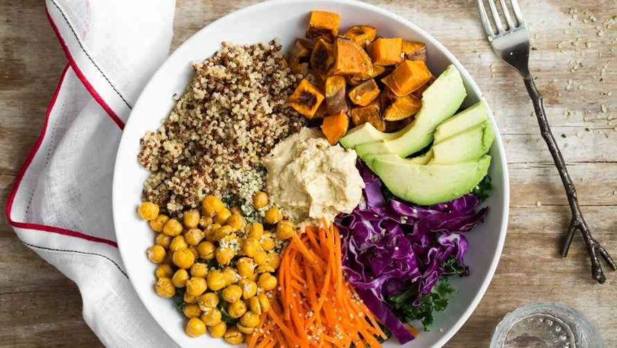 صحتين وعافية أكل نباتي شهي