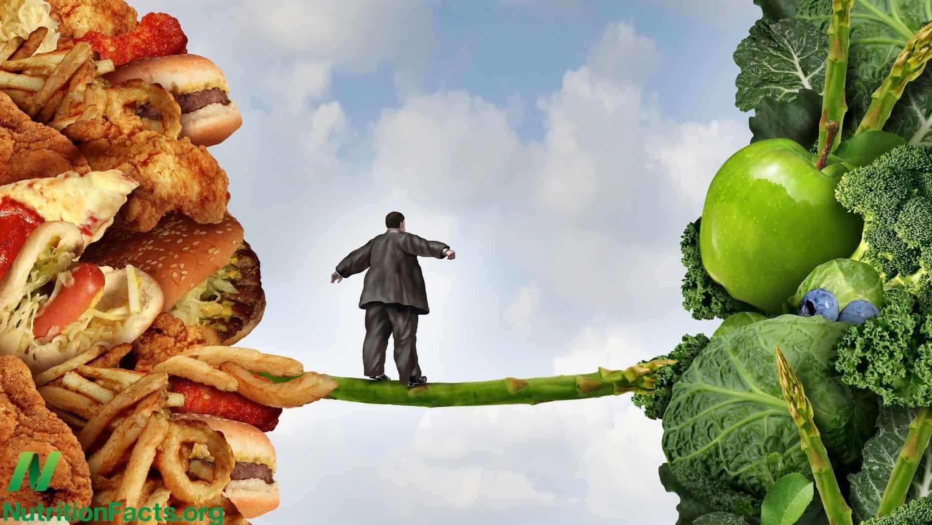 الاختيار بين الصحة والمرض الحمية النباتية