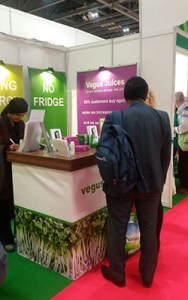 Vegus Juices at the Natural Products Show 2017