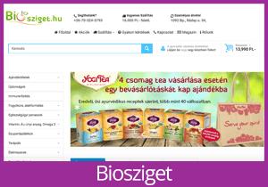 Biosziget website