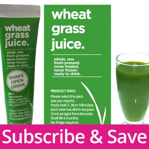 Subscribe Wheatgrass Juice