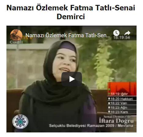 Fatma Tatlı- Namaz