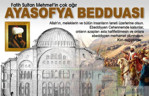 Fatih Sultan Mehmet Han'ın Bedduası
