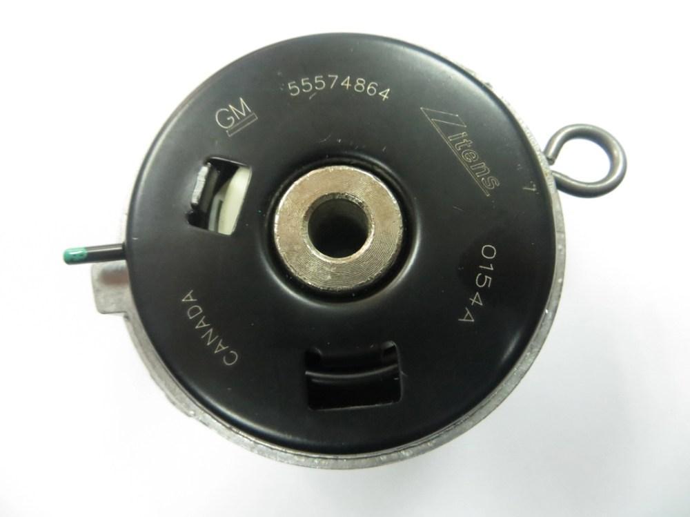 medium resolution of adjustable alternator timing belt tensioner pulley for chevrolet cruze 55574864