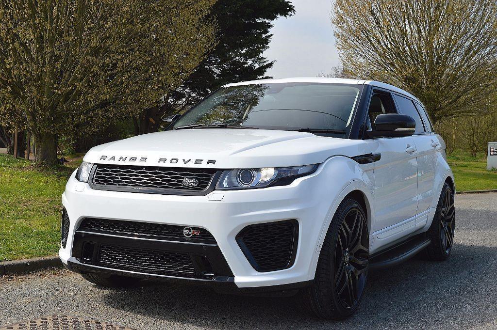 Range Rover Evoque SVR Body Kit Upgrade Up 2012 2013 2014