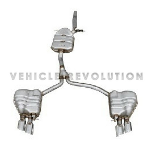 Audi A4 B8 A5 4 Door S4 S5 Type Cat-Back Exhaust System