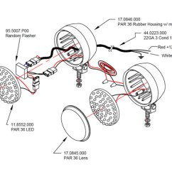 Sho Me Wig Wag Wiring Diagram Single Humbucker Flasher Auto Electrical 11 Series Par 36 Led Kits