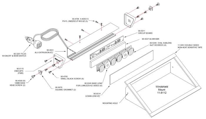 ecco strobe light wiring diagram