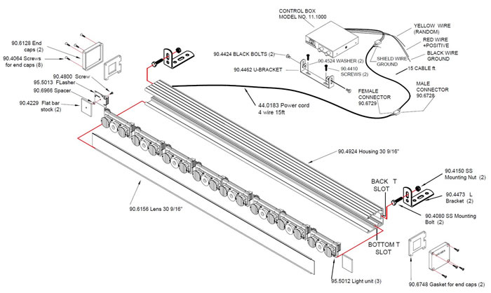 whelen linear 3 led wiring diagram