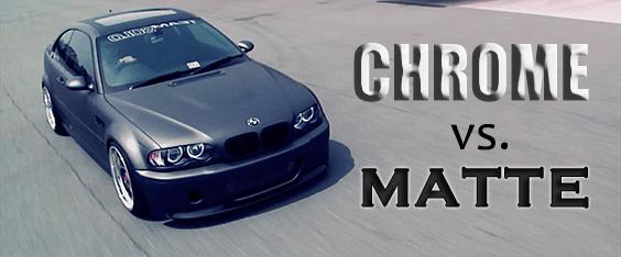 Matte vs Chrome Car Wraps Is Chrome the New Matte Black