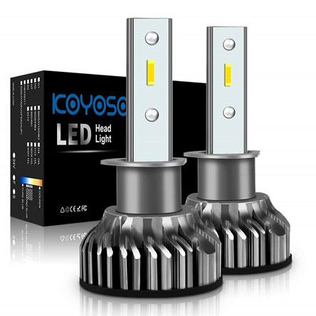 Ksenono efekto lempa VS LED lempa