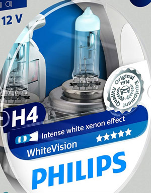 Philips WhiteVision Effetto Xenon H4 opinioni e pareri