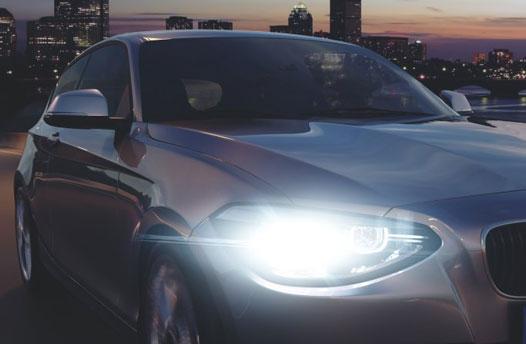 come funziona una lampada alogena per auto