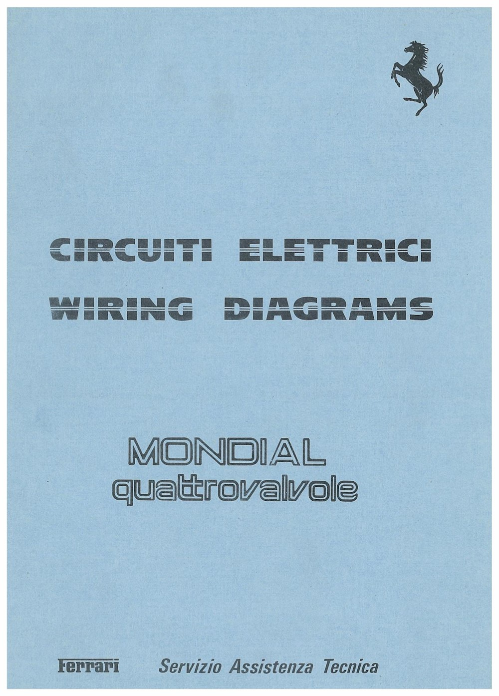 small resolution of ferrari mondial technical electric wiring diagram 1982 it en