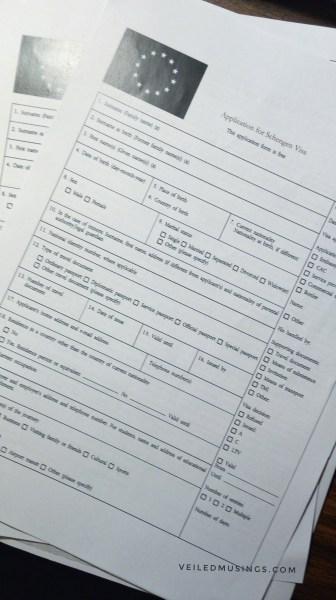French Visa Application – Manila via VFS Global | veiledmusings.com