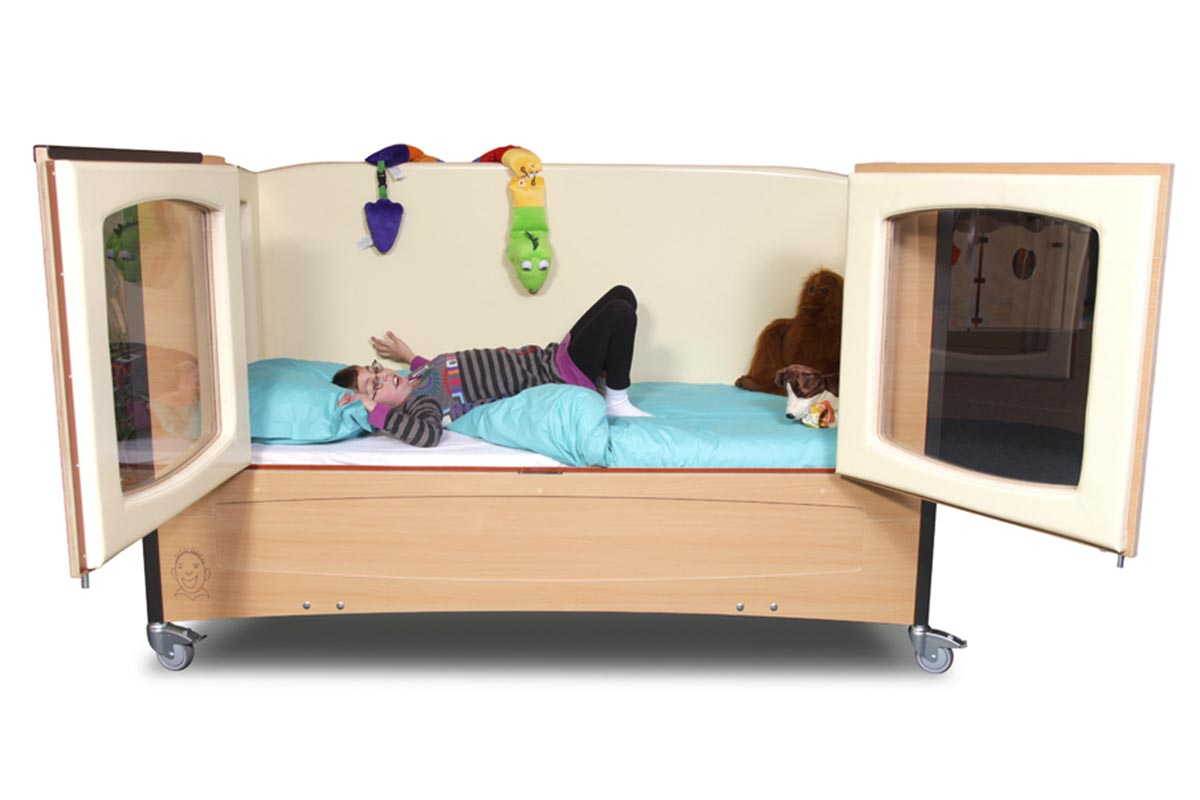 Veiligbed bedbox en tenbedden voor de zorg