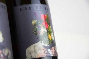 Diseño de etiquetas de vino - Cap de Flors
