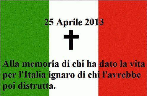 alla memoria del 25 aprile