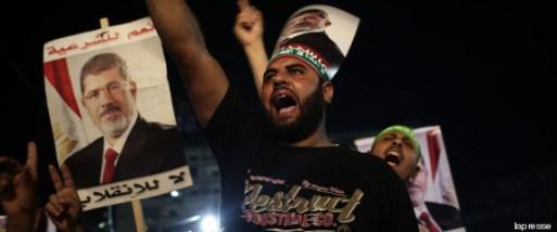 Egitto, i sit-in pro Morsi