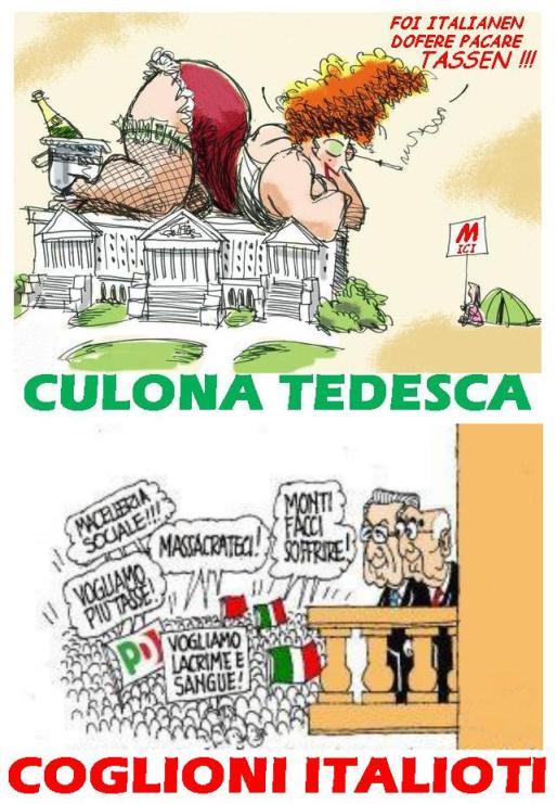 FOI ITALIANEN DOFERE PAGARE TASSEN!!!