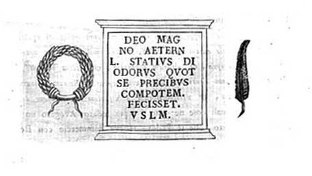 lapide  l. Stativs  disegno