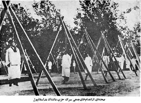Armeni impiccati ad Aleppo nel 1915