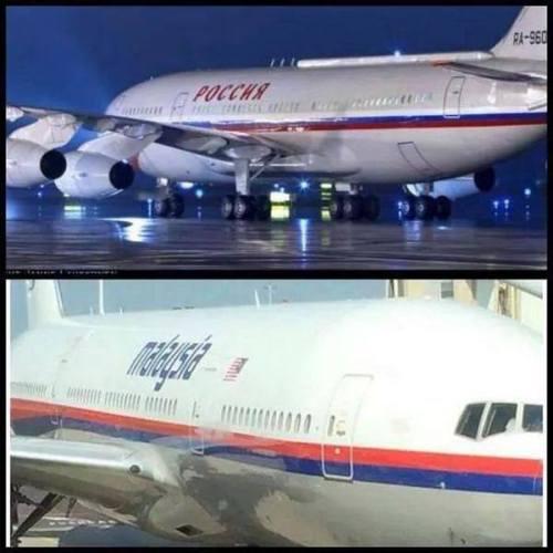aereo putin-aereo malesia