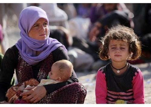 Yazidi in fuga