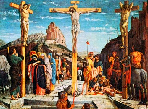 Il Calvario, di A. Mantegn