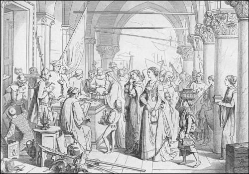 giuseppe-gatteri-1379-le-donne-ofrono-oro-alla-patria
