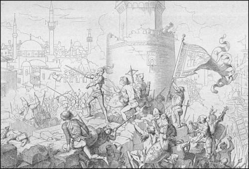 giuseppe-gatteri-1471-pietro-mocenigo-saccheggia-la-costa-turca