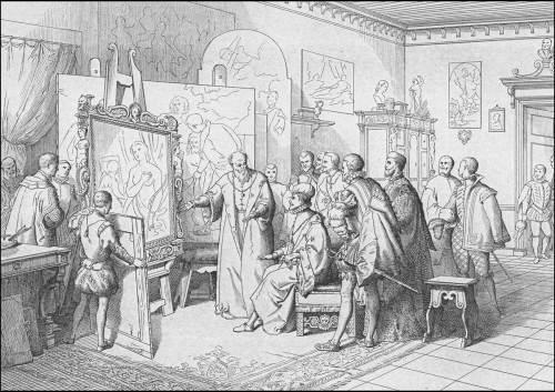 giuseppe-gatteri-1574-enrici-III-incontra-tiziano