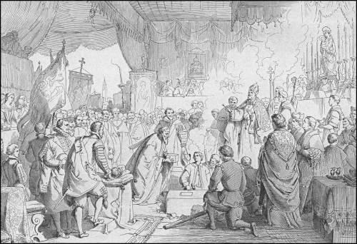 giuseppe-gatteri-1631-il-doge-contarini--pone-la-prima-pietra-del-tempio-della-salute