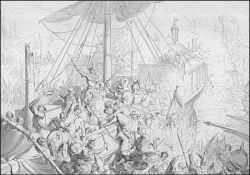 giuseppe-gatteri-1647-tomaso-morosini-contro-la-flotta-turca