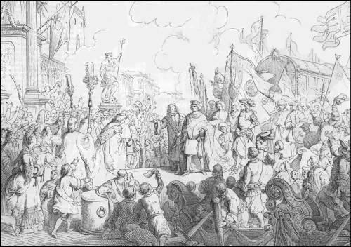 giuseppe-gatteri-1690-morosini-rientra-a-venezia-da-doge