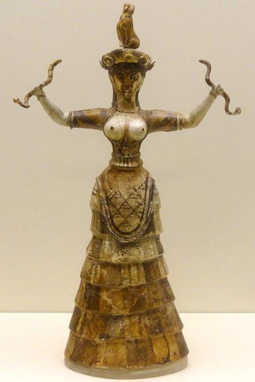 Minoan snake-goddess