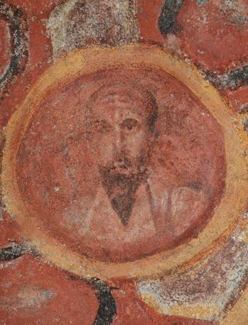 Cubicolo degli apostoli, ritratto di Paolo