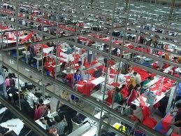 Impianto tessile in Bangladesh