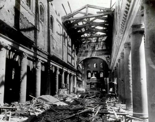 san lorenzo fuori le mura bombardamenti
