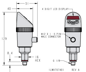 Vektek: Products: Metric: Accessory Valves: Pressure Switch