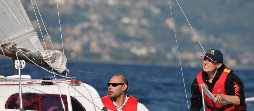 Continuano i corsi di vela al lago